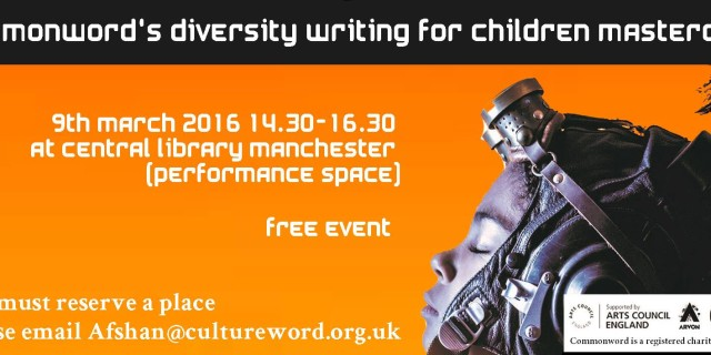 Diversity Writing for Children Prize 2016: Writing for Children Masterclass